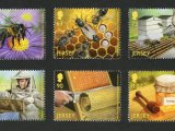 Jersey Bee Postage Stamps CG001