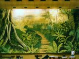 MU010 Jungle - Theatrical Backdrop Mural painted on 20x8m Canvas